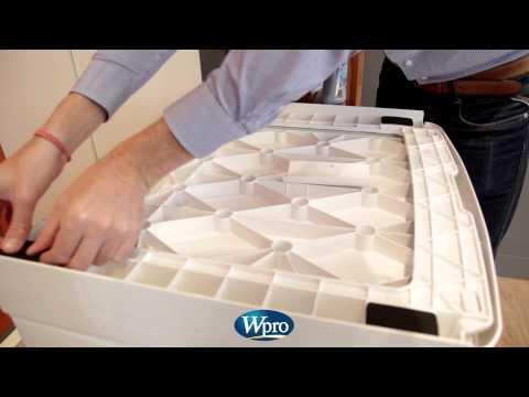 Kit de superposition pour lave linge s che linge - Separation lave linge seche linge ...