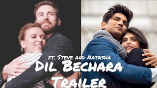 Dil Bechara Trailer ft. Steve and Natasha | Romanogers | Love you Sushant Singh Rajput | CapNat Song