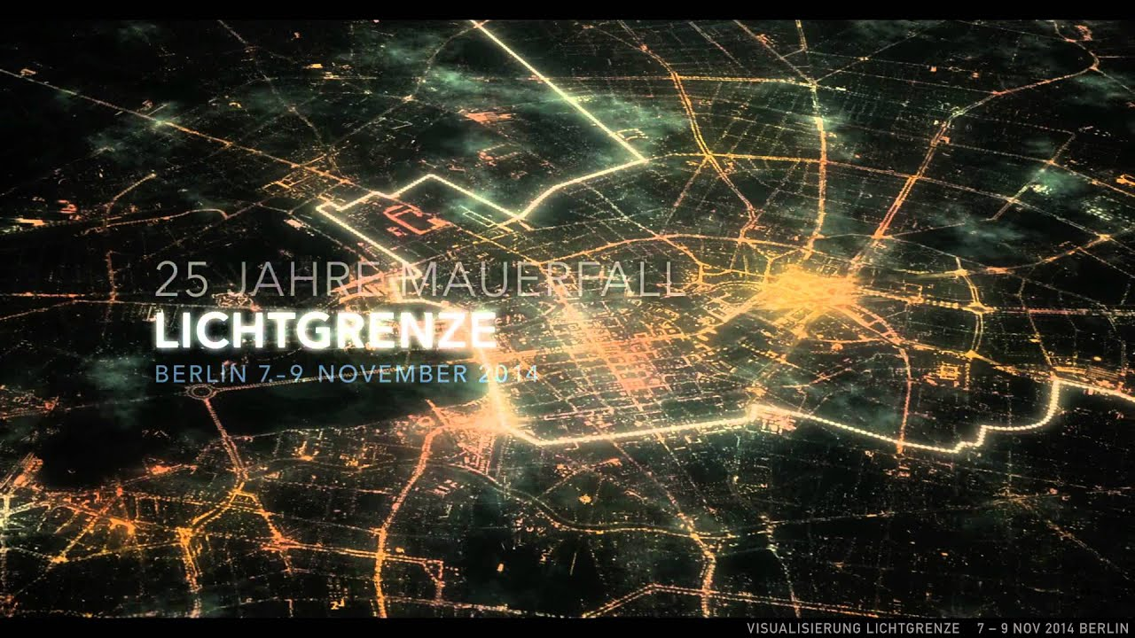 The Fall Wallpaper Movie Lichtgrenze Light Art Project For The 25 Years Fall Of
