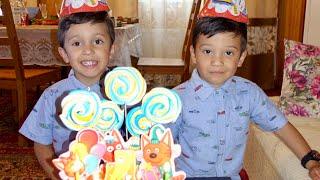 Лето 2019: Отмечаем день рождения двойняшек с друзьями! Развлечения дома и на улице!