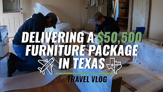 $50,500 Table Delivery - Texas Vlog