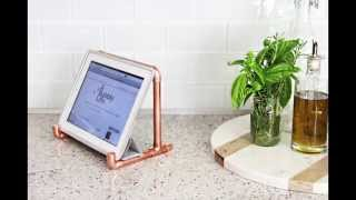 Diy Video: How To Make A Copper Tablet Stand