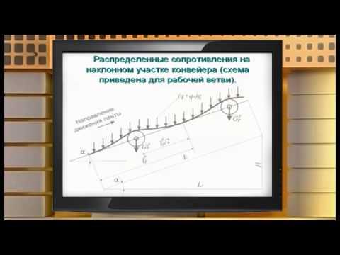 Видеолекция Ленточный конвейер
