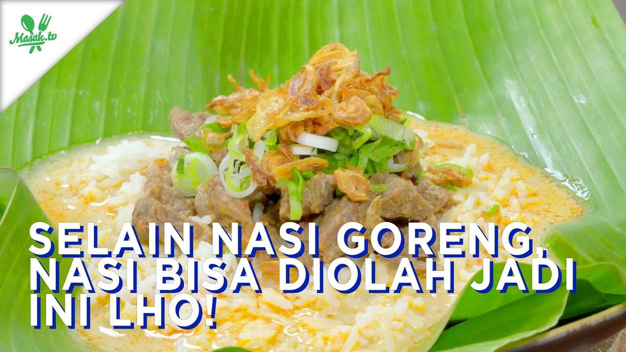 Selain Nasi Goreng, Nasi Juga Diolah Jadi Ini Lho!