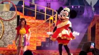 Just Chill Chill | Minnie Mouse Dance | Indian Dress | Disneyland Hongkong