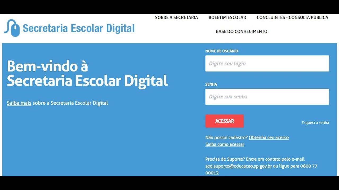 Tutorial para e-mail Institucional - Secretaria Educação São Paulo - Aluno  - Como acessar a SED - YouTube