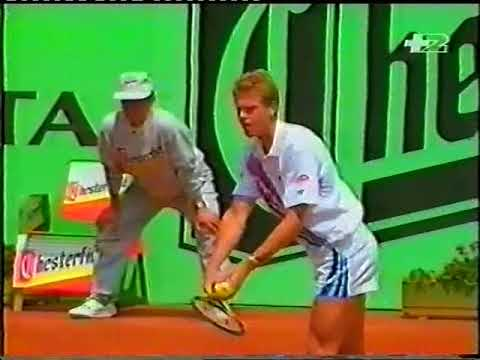Bruguera vs Edberg (Madrid 1993) final