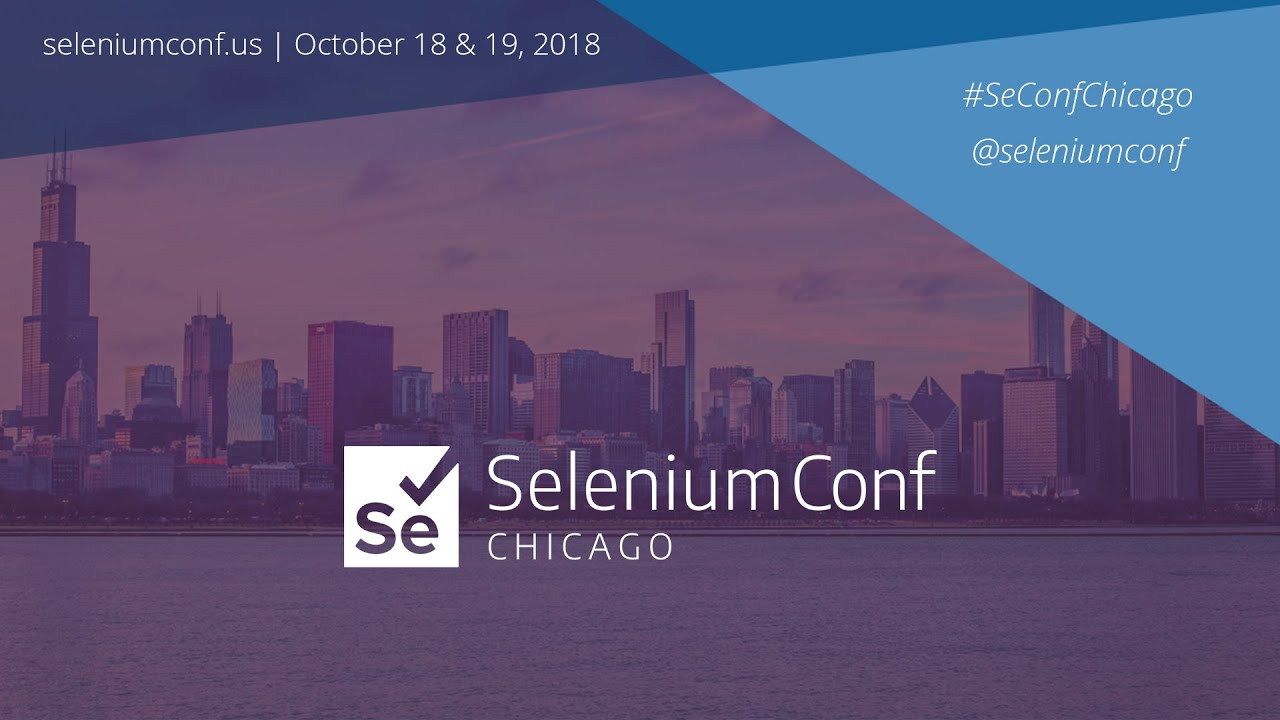 AI for element selection - Jason Arbon | SeleniumConf Chicago