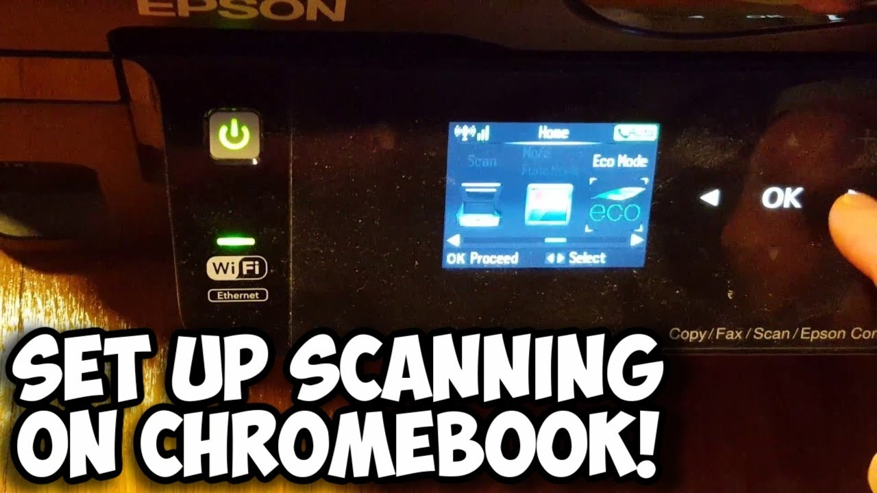 Set Up Scanning on Chromebook