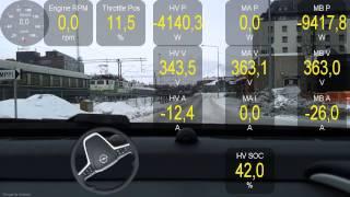 Opel Ampera Test Drive