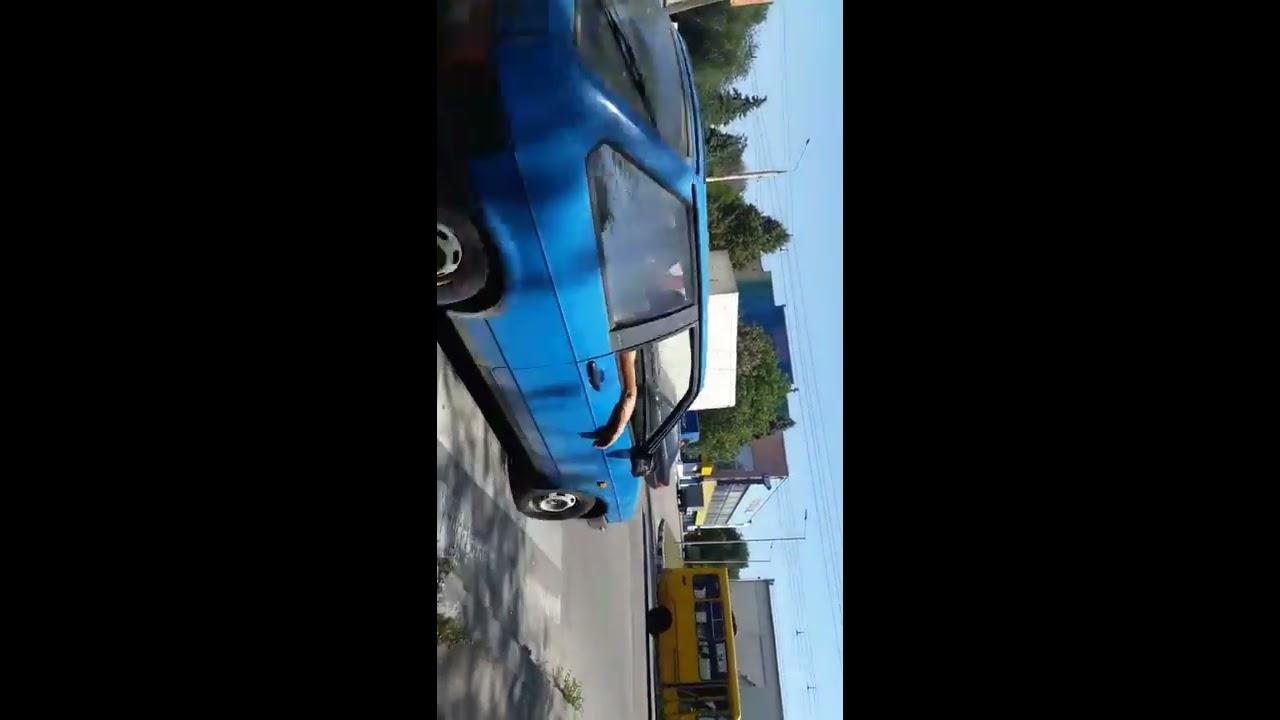 ДТП в Запорожье 05.09.17. Toyota Camry столкнулся с ВАЗ-21099 на .