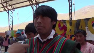 La achacana producto estrella en la II Feria Nutricional de Totoral - Oruro