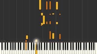 Solitude - Jazz piano solo tutorial