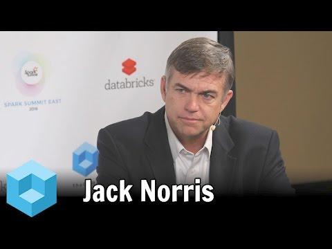 Jack Norris – Spark Summit East 2016 – #SparkSummit – theCUBE