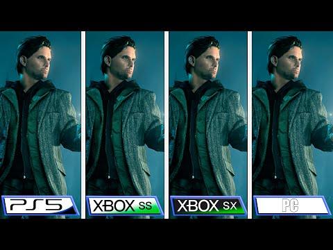 Сравнение Alan Wake Remastered на Xbox Series X   S и Playstation 5