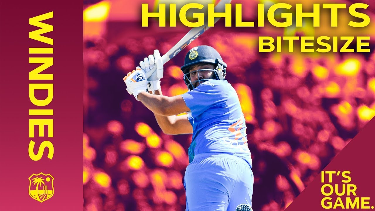 Windies vs India 2nd IT20 2019 | Bitesize Highlights