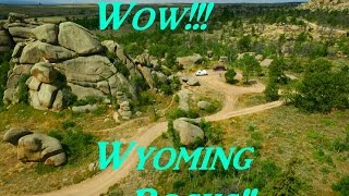 Wow!  Wyoming Rocks!  Vanlife On the Road