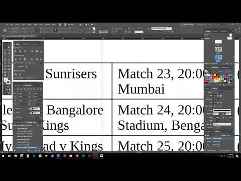 How to convert Text to Table in - Adobe InDesign