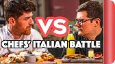 ULTIMATE CHEF VS CHEF ITALIAN FOOD BATTLE