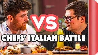ULTIMATE CHEF VS CHEF ITALIAN FOOD BATTLE