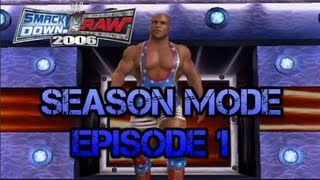 wwe svr 2006 kurt angle season mode episode 1
