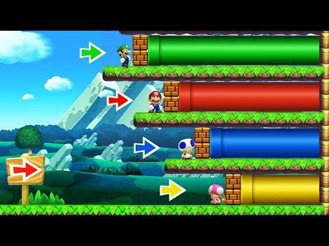 Super Mario Maker 2 - Online Multiplayer Co-op #10