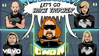 Ace Frehley - Space Truckin' (Official Music Video)