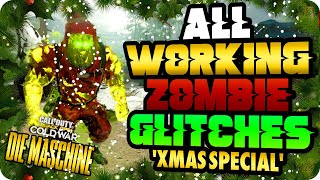 """Cold War Zombie Glitches: All Working Zombie Glitches Xmas Special After All Patches """"Die Maschine"""""""