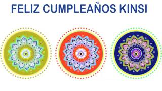 Kinsi   Indian Designs - Happy Birthday