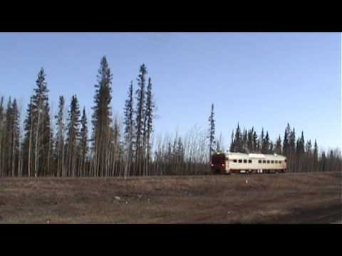 Budd RDC at Hay River, Northwest Territories