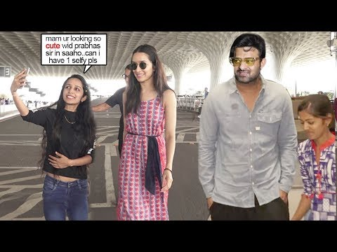 Shraddha Kapoor feels so Happy Seeing Her FANS Reaction on Doing Saaho Movie Wid Prabhas @Airport Mp3
