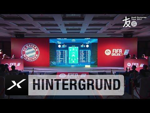 Robert Lewandowski vs. David Alaba: FCB-Stars im FIFA-Duell   FC Bayern München   Asien-Reise