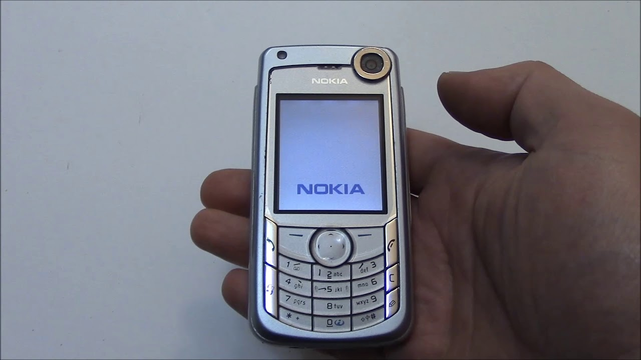 how to hard reset a nokia 6680 cell phone youtube rh youtube com nokia 6680 user manual nokia 1680 manual 1-17