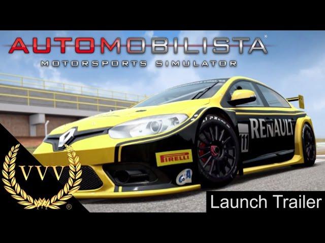 Automobilista Motorsports Simulator V1.0 Release Trailer