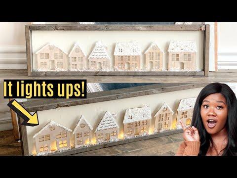 DIY Christmas Wood Sign | Ashleigh Lauren