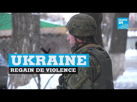 Ukraine : regain de violence entre soldats ukrainiens et séparatistes pro-russes