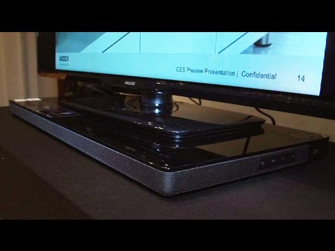 Philips Fidelio XS1 blends into your living space