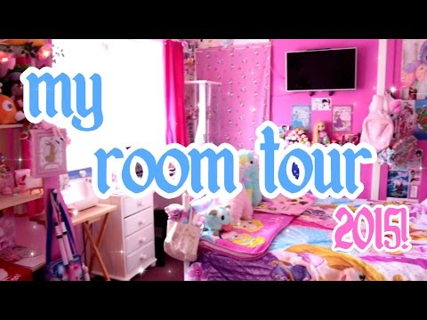 My Kawaii Disney Fied Room Tour 2015 ♡ Abipop Youtube