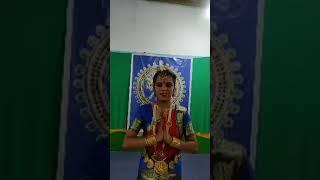 SAHANA S. Facebook live video  Bharatnatyam