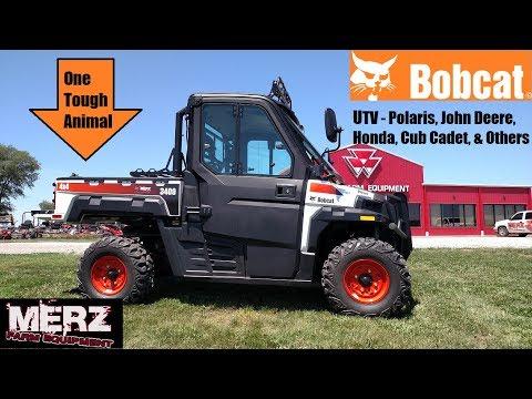 The Story of the Bobcat Utility Vehicle (UTV) - One Tough Animal