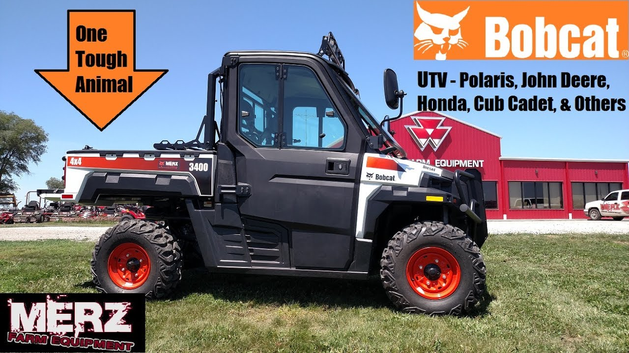 The Story of the Bobcat Utility Vehicle (UTV) - One Tough Animal