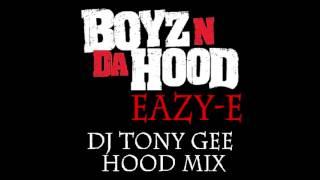 Eazy E - Boyz N Da Hood (Tony Gee Hood Mix Clean)
