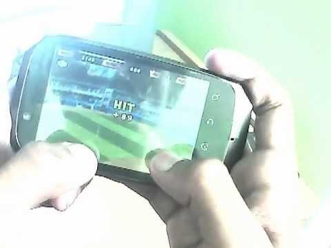 HOME RUN BATTLE 3D ON MOTOROLA FIRE XT XT530 ARMV6 GAMEPLAY HD hvga game play