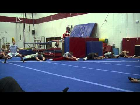 Harlem Shake - Nebraska Men's Gymnastics Edition