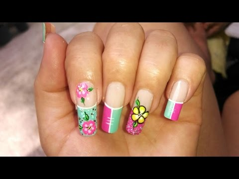 Decoraciones de u as f cil de hacer easy nail art nlc for Decoracion unas