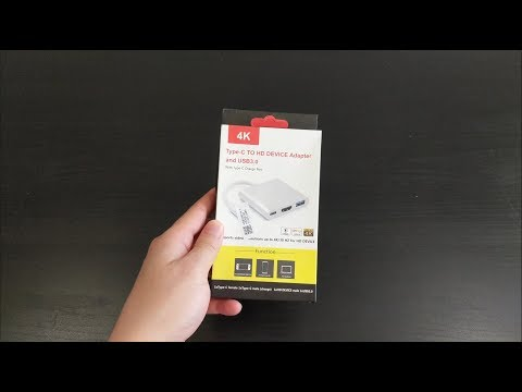 Nintendo Switch USB C to HDMI adapter