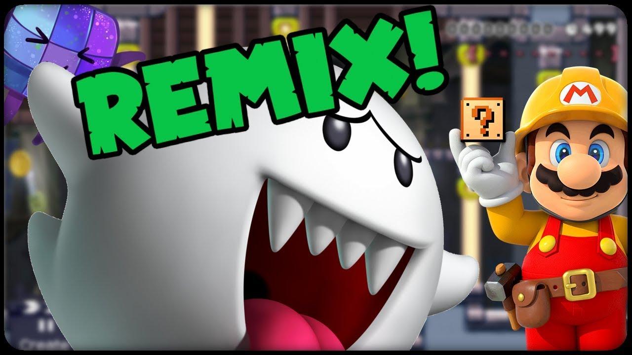 SUPER MARIO MAKER ⭐️ Geisterhaus Remix! #346 ⭐️ ONLINE Deutsch