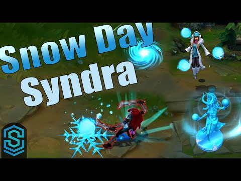 Snow Day Syndra Skin Spotlight - League of Legends