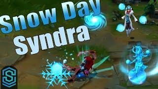 Snow Day Syndra Skin Spotlight - League of Legends