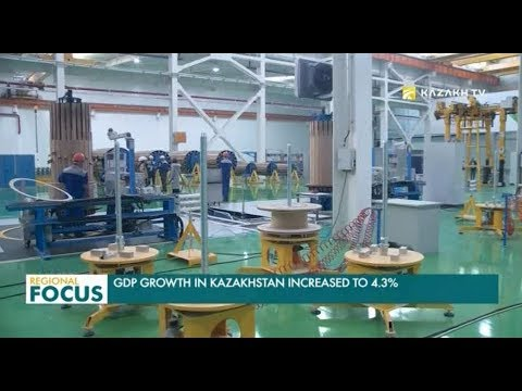 GDP Growth in Kazakhstan Increased to 4.3%
